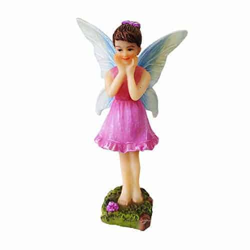 NW Wholesaler – Fairy Garden Fairy Figurines Hand Painted Miniature Fairies  (Surprised Fairy) - Teelie's Fairy Garden
