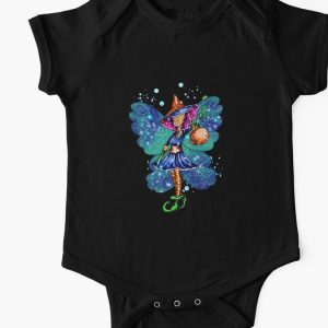 Issy's Fairy Halloween Party Baby One Piece