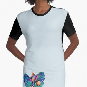 Issy's Fairy Halloween Party Graphic T Shirt Dress