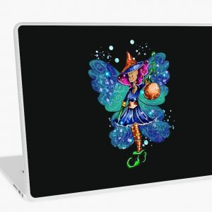 Issy's Fairy Halloween Party Laptop Skin
