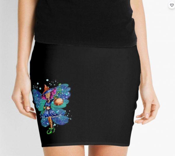 Issy's Fairy Halloween Party Mini Skirt
