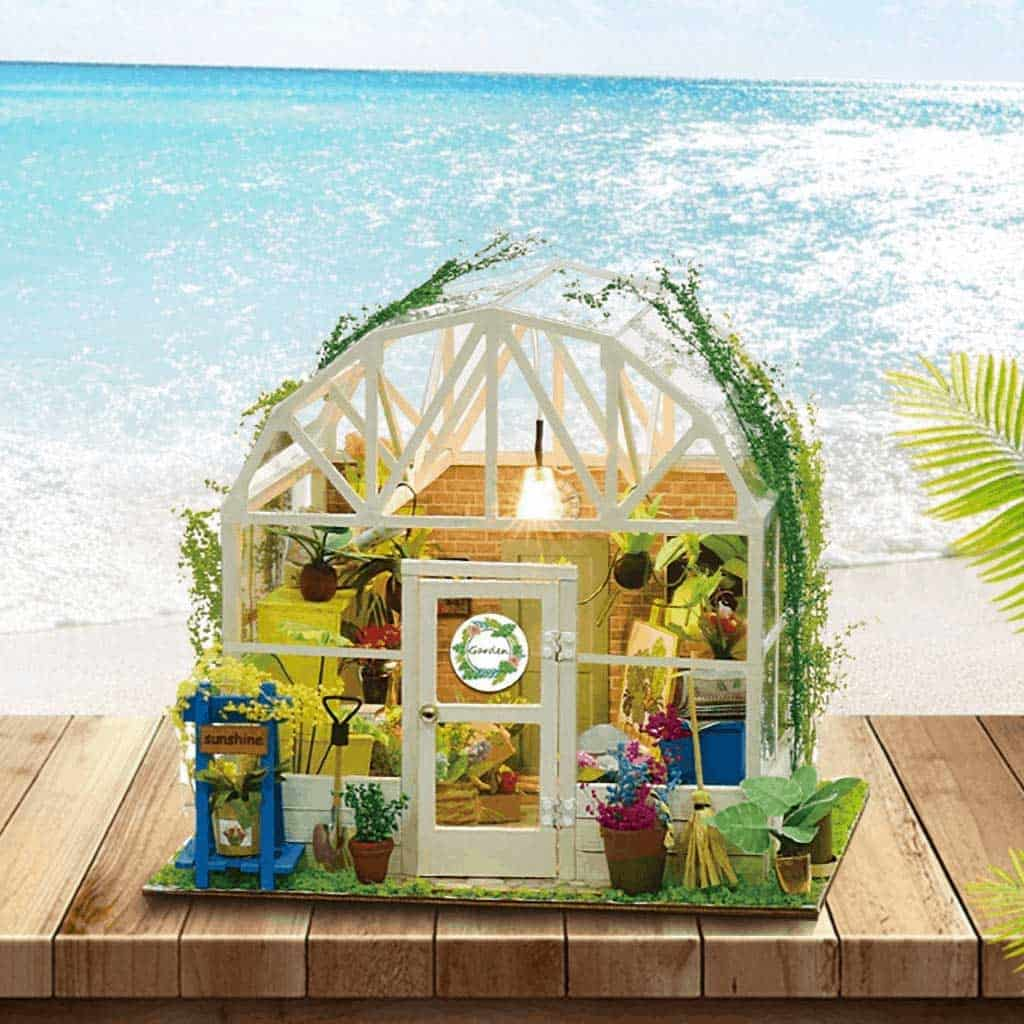 Enjoy greenhouse kits with the fairies