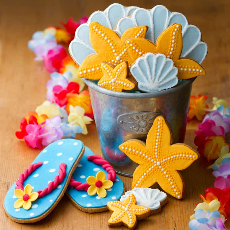 Beach Themed Cookies