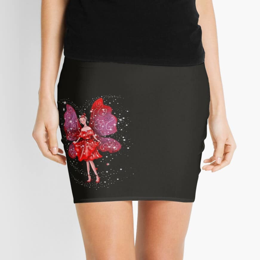 Rosita The Fiesta Fairy Mini Skirt