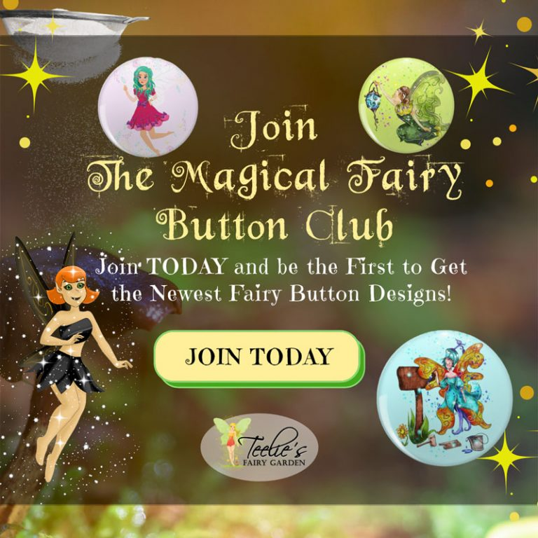 Magical Fairy Button