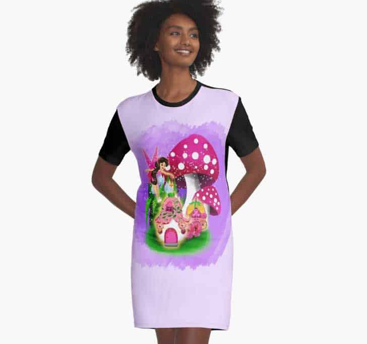 Graphic T Shirt Dress