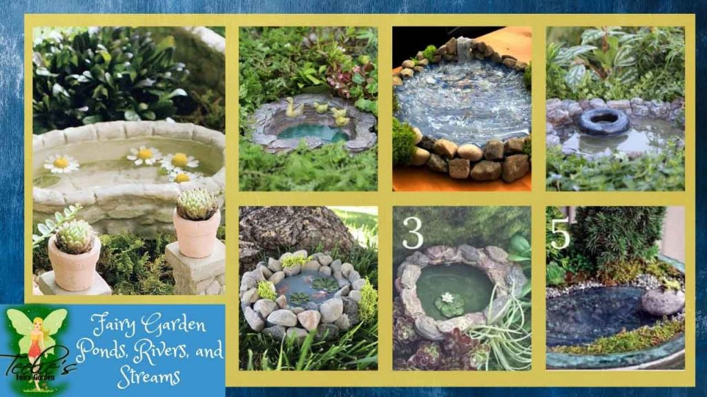 Fairy Garden Pond ,river And Streams