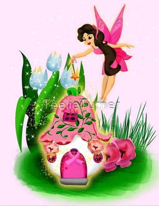 Faith Fairy In Pretty In Pink