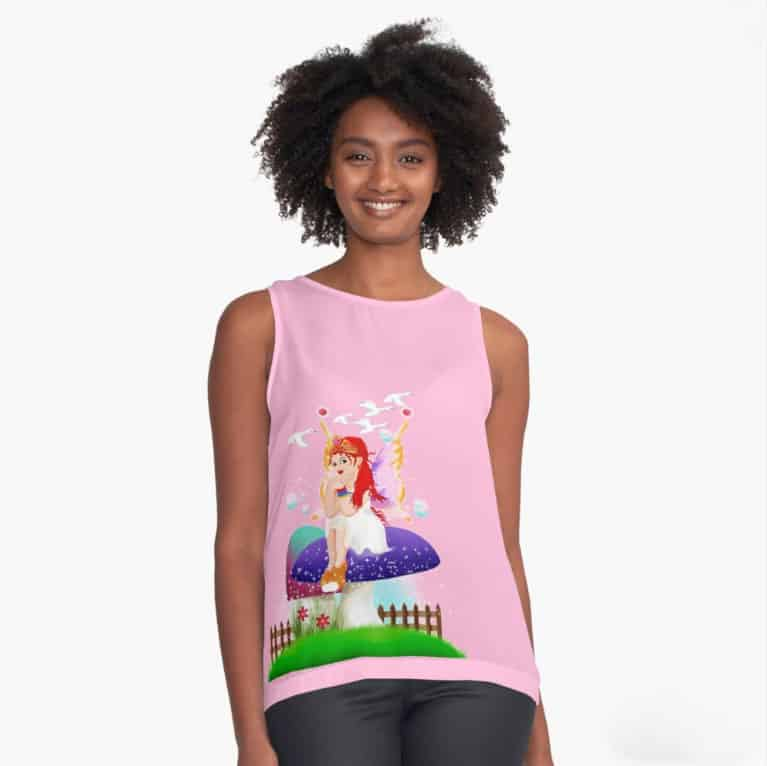 Chime The New Year's Fairy™ Sleeveless Top