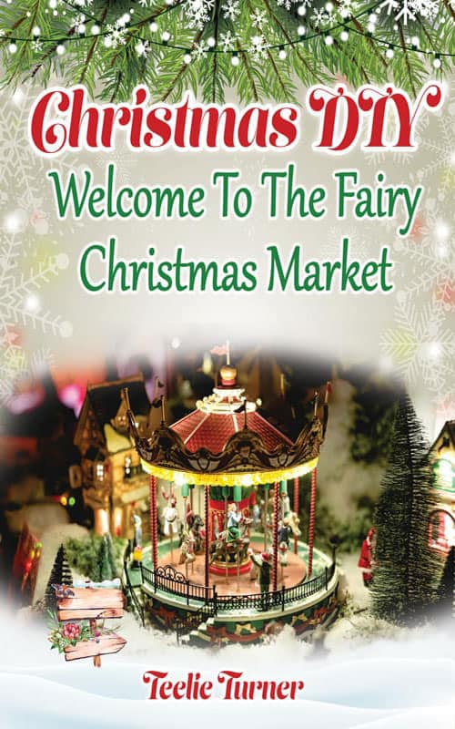 Christmas Diy Market Book Cover