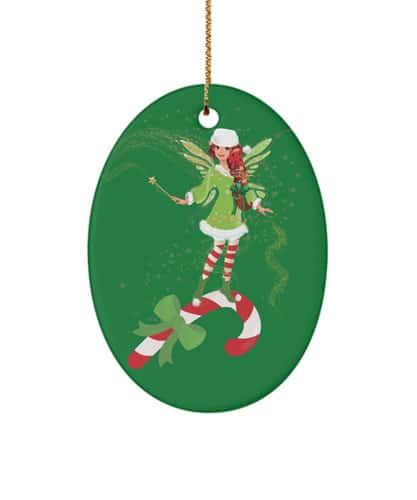 Fairy Merry Matching Candy Cane
