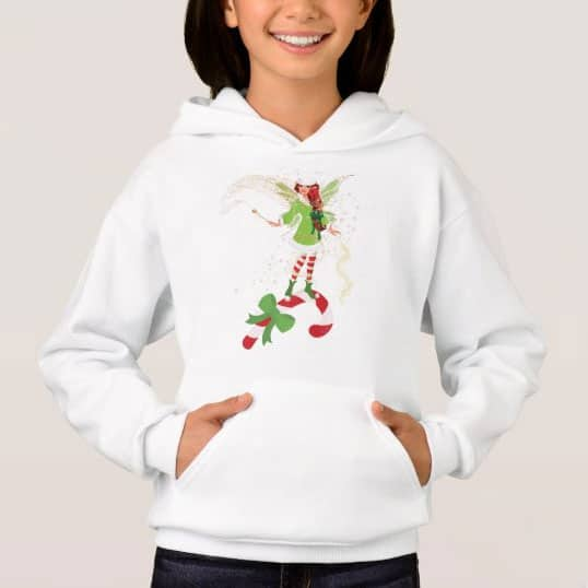 Fairy Merry And The Matching Candy Cane Hoodie