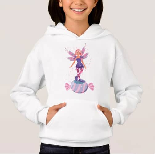 The Sugar Plum Fairy Of The North Pole Hoodie