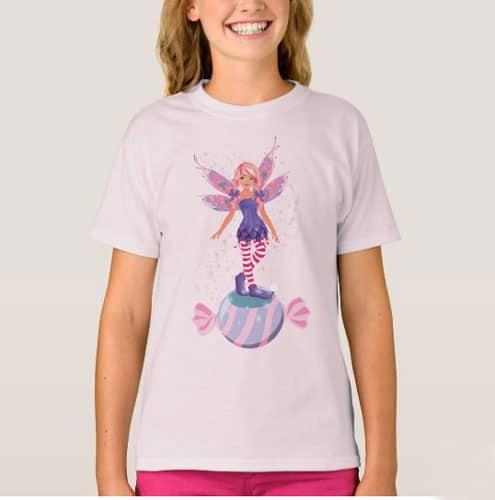 The Sugar Plum Fairy Of The North Pole T Shir 2