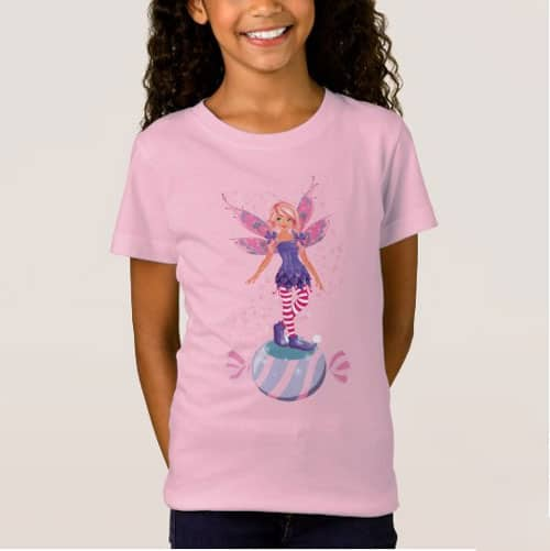 The Sugar Plum Fairy Of The North Pole T Shirt