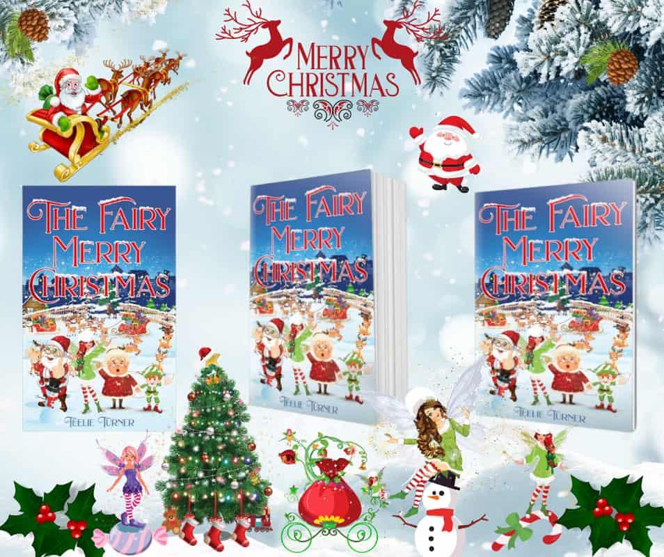 Fairy Merry Christmass Book