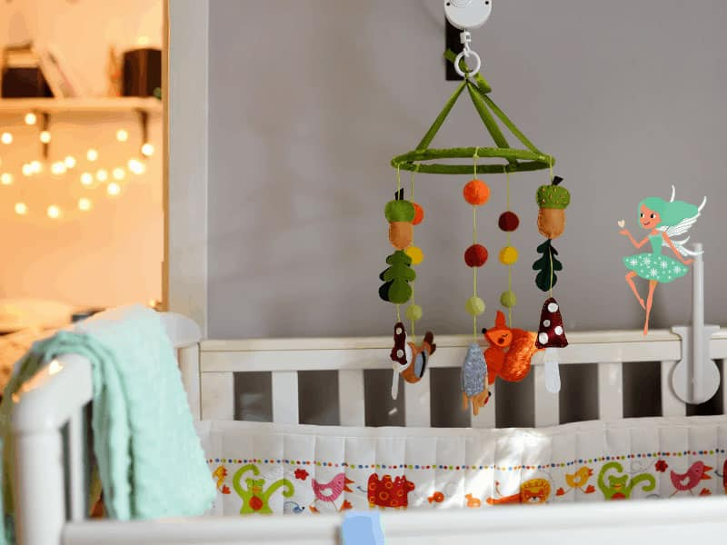 magical mobiles for a baby's room