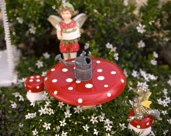 Create a Red, Pink and White Fairy Garden for Valentine's Day