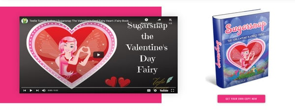 Sugarsnap The Valentines Fairy