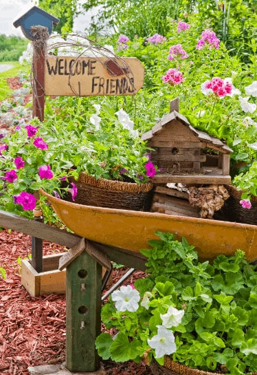Magical Garden Welcome Signs