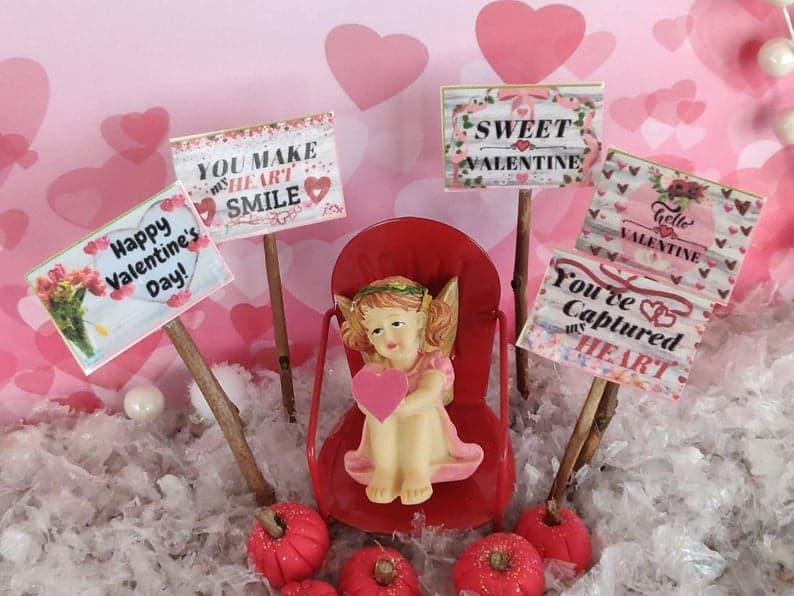 Valentine's Etsy Scene