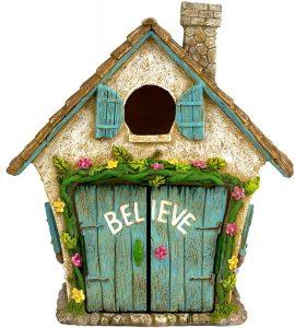 the adorable believe fairy garden house