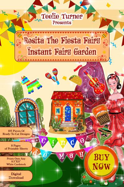 98 instant fairy garden digital downloads