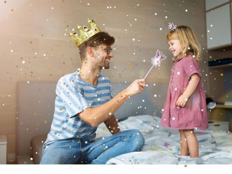 father and daughter magic