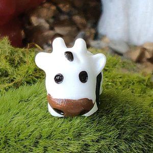 1 miniature sweet cow, cows, mini cows