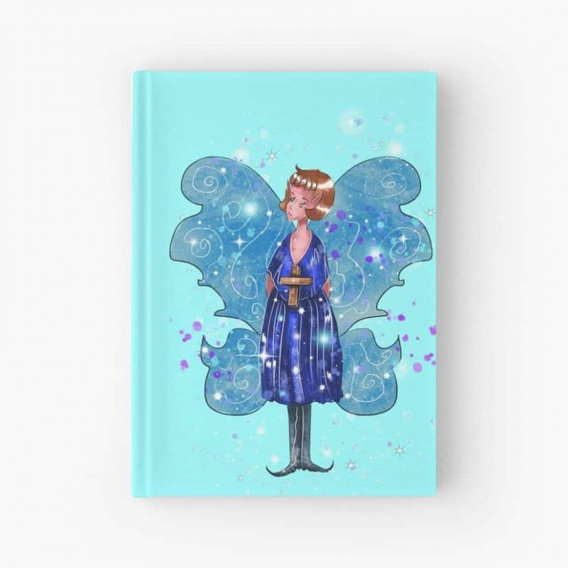 Alleta The Angel Fairy™ Hardcover Journal