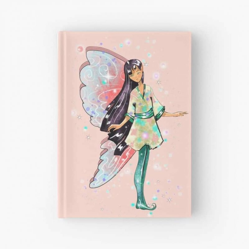 Amaya The Asian Inspired Fairy™ Hardcover Journal