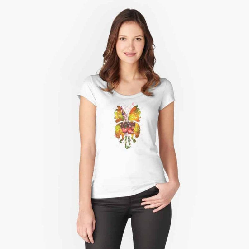 Betsy The Believe Fairy™ Fitted Scoop T Shirt