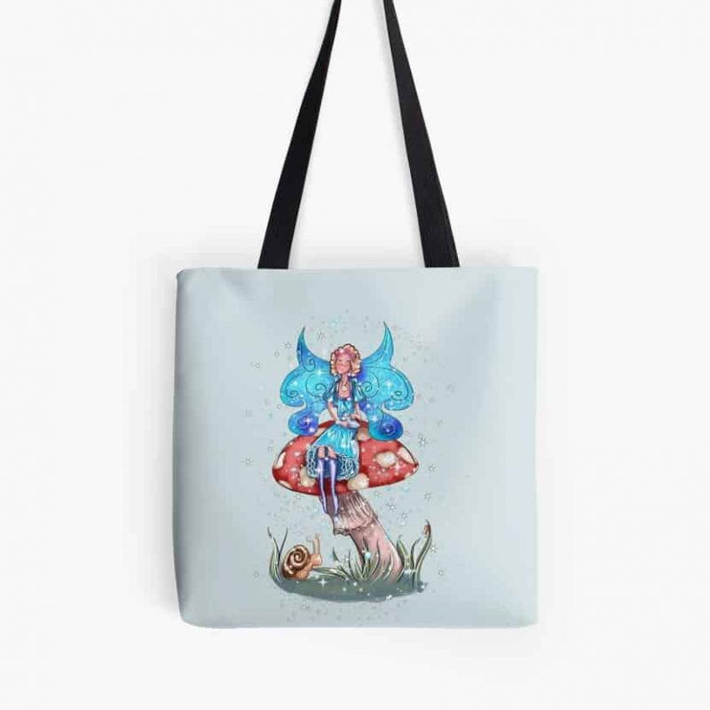 Blossom The Summer Spring Fairy Tote Bag