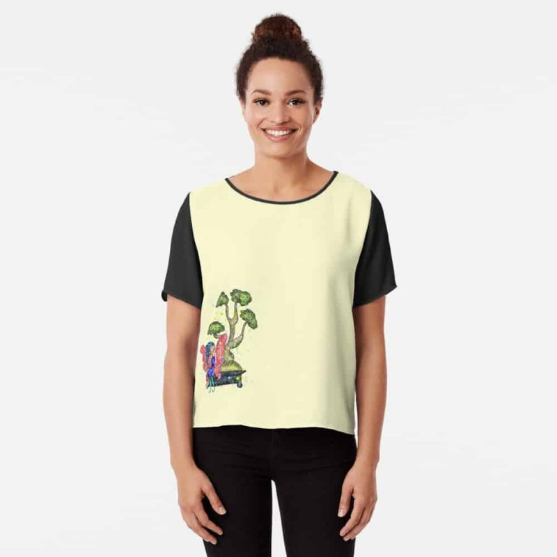 Busana The Bonsai Fairy™ Chiffon Top