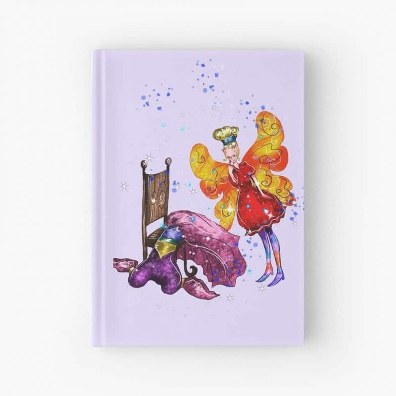 Candra The Costume Fairy™ Hardcover Journal