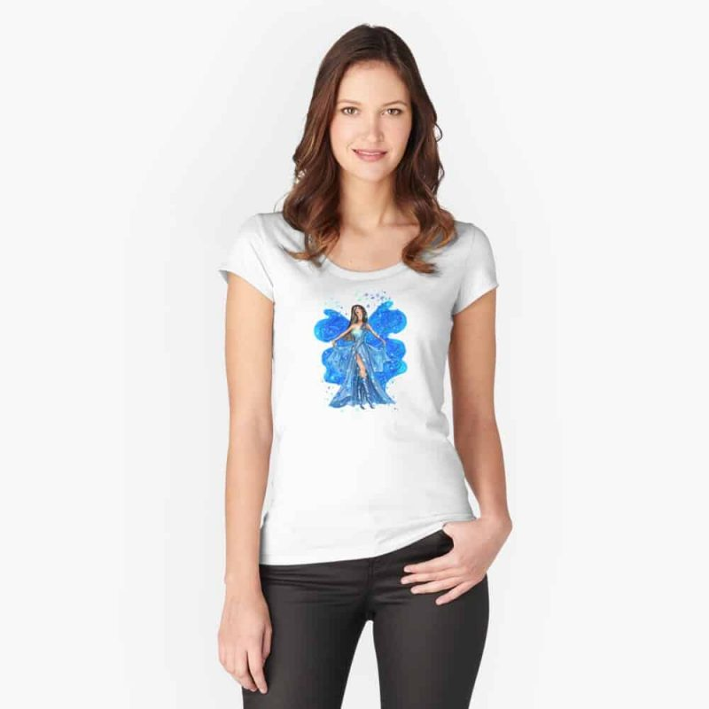 Caselia The Collector Fairy™ Fitted Scoop T Shirt