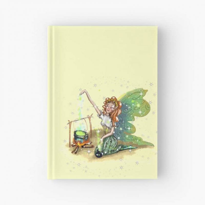 Chrissy The Camping Fairy™ Hardcover Journal