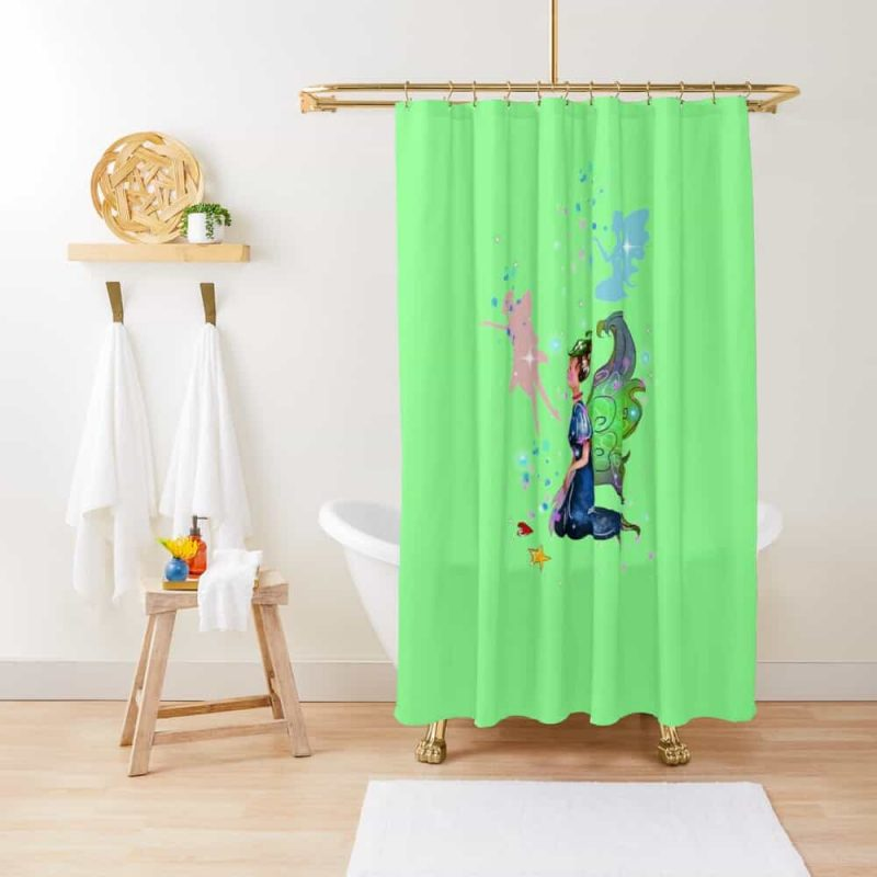 Delicia The Decal Fairy™ Shower Curtain