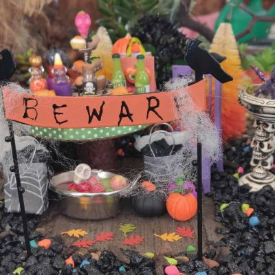 Fairy Garden Halloween Party For Fairy Witches