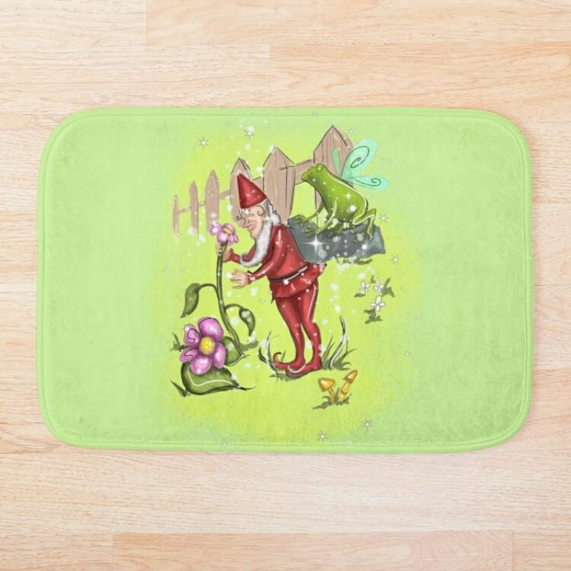 Genius Gnome Fairy™ Bath Mat