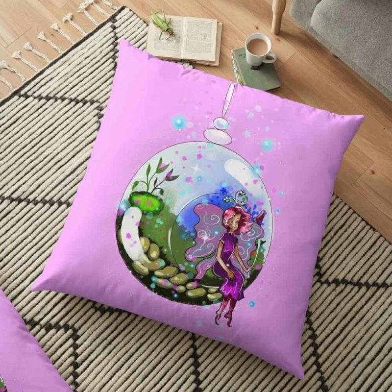 Idalis The Indoor Gardening Fairy™ Floor Pillow