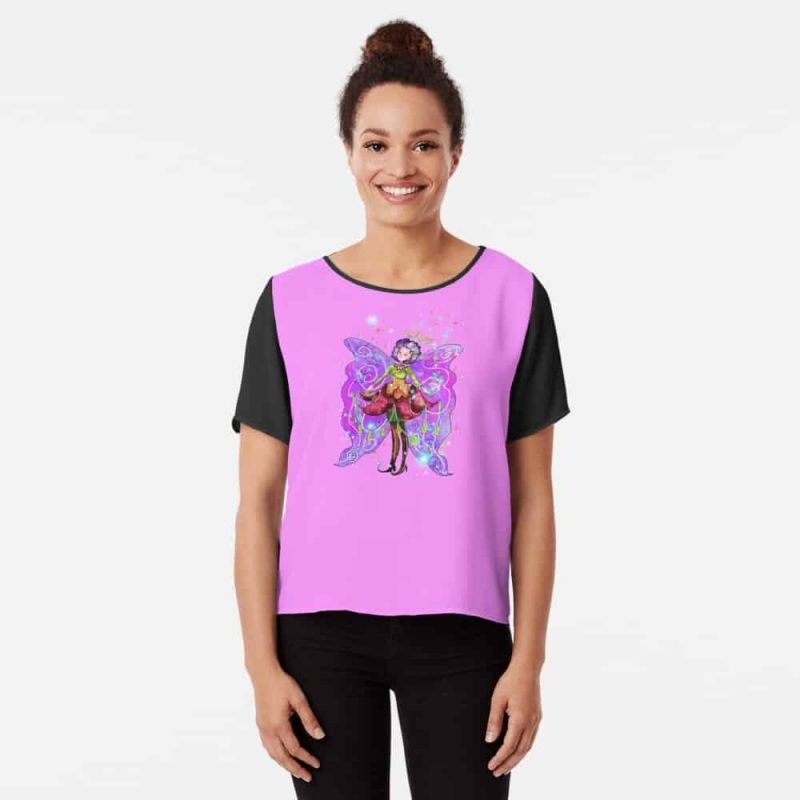 Jenessa The Jewelry Fairy™ Chiffon Top