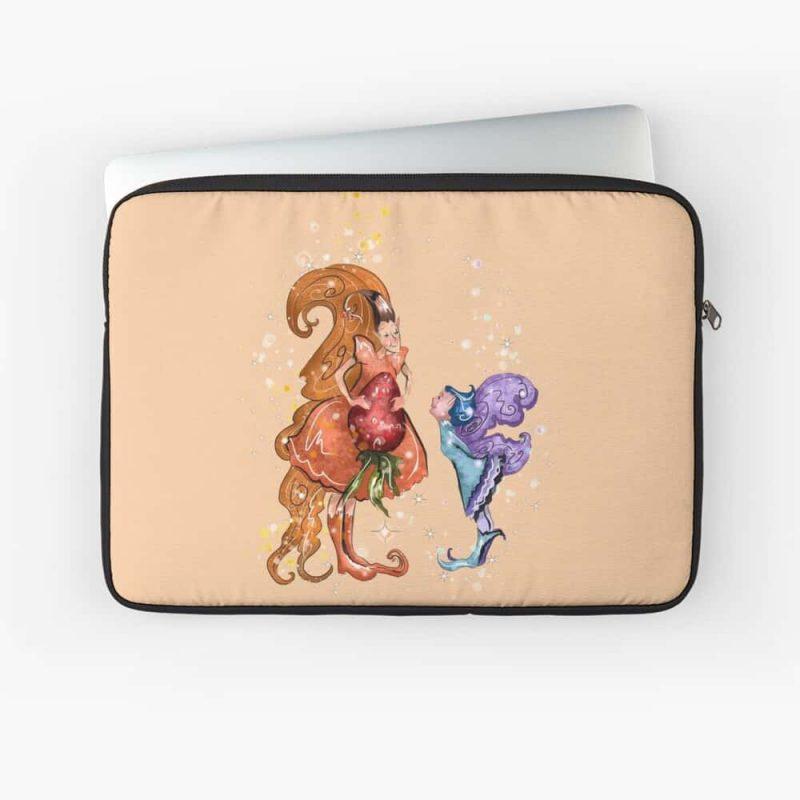 Llewellyn The Large Fairy™ Laptop Sleeve