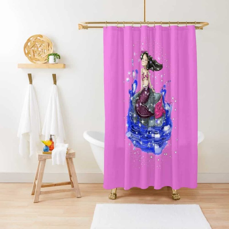 Mandy The Mermaid™ Shower Curtain