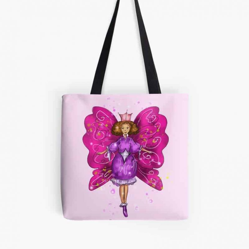 Meliantha The Magical Pink Fairy™ Tote Bag