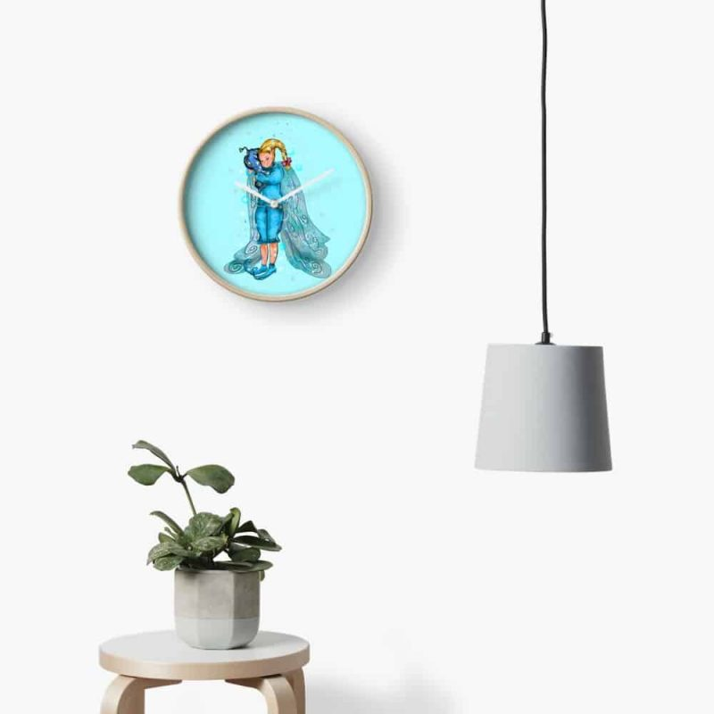 Pooky The Pillow Fairy™ Clock