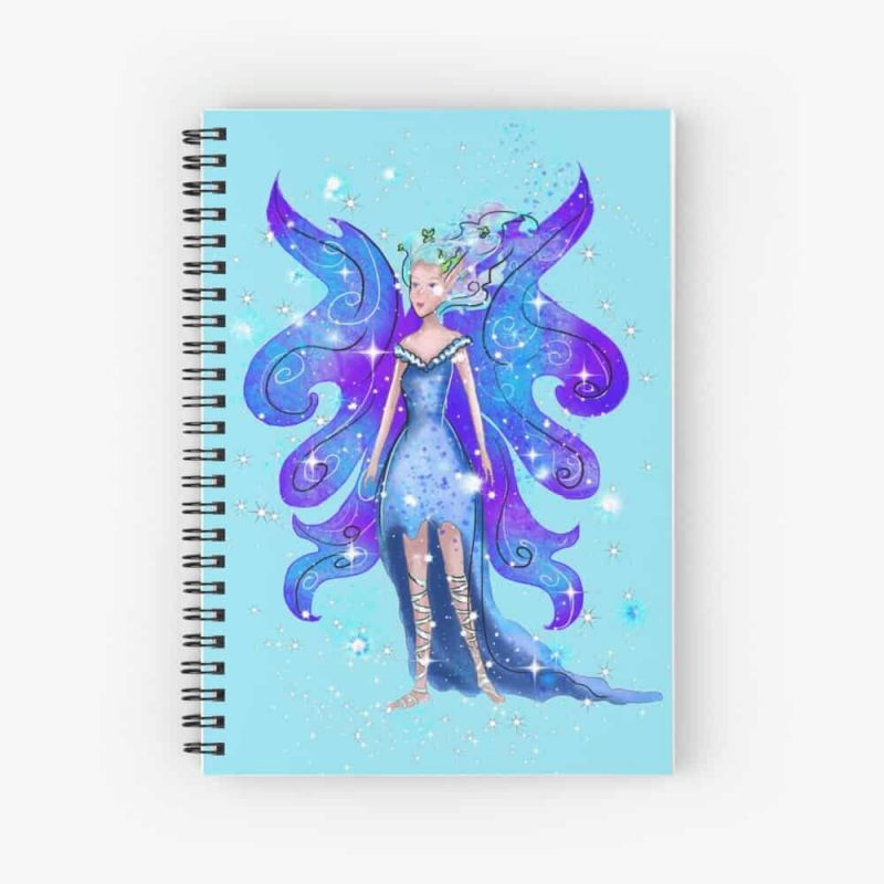 Princess Isadora The Fairy Tale Fairy™ Spiral Notebook