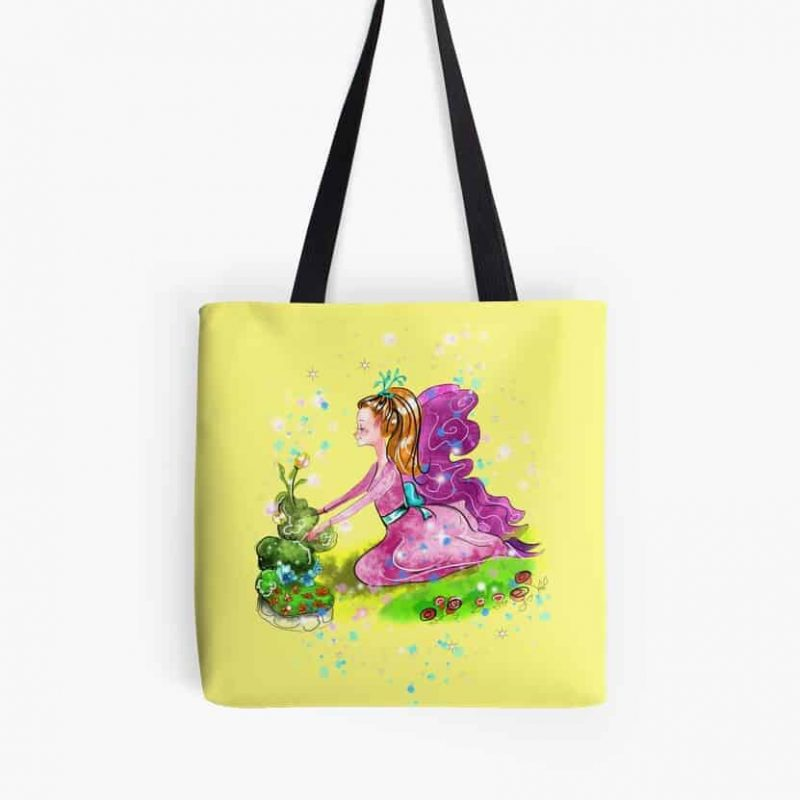 Qiana The Outdoor Gardening Fairy™ Tote Bag