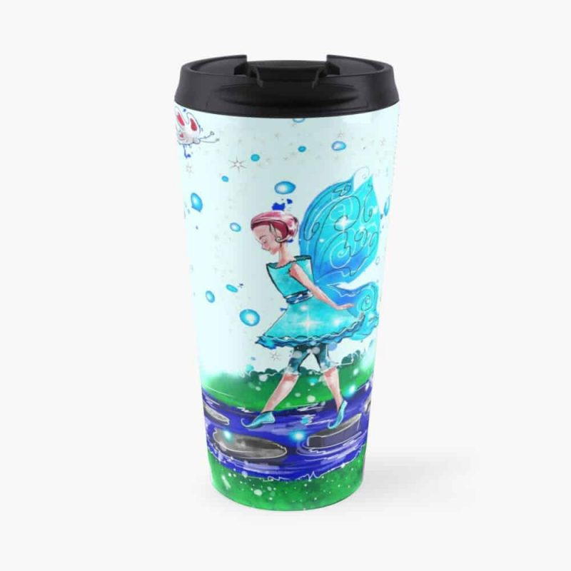 Sorcha The Pathway And Steppingstone Fairy™ Travel Mug