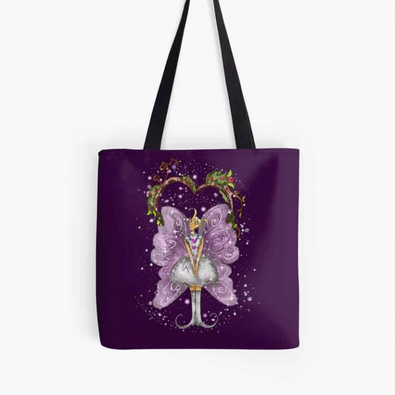 Trixy The Trellis Fairy™ Tote Bag